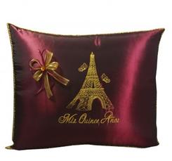 Paris Quinceanera Pillows,  Kneeling, Tiara Pillow or Set