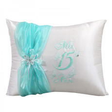 Butterflies Quinceanera Kneeling Pillow, Tiara Pillow or Set  # BIQS3104P
