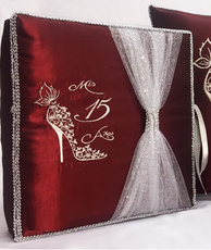 Quinceanera Guest Book, Photo Album AK-KC317A