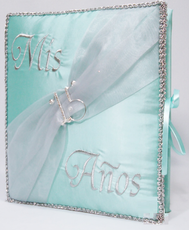 Mis 15 Quinceanera Guest Book, Photo Album