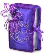 Stars Quinceanera Bible KC-239B2