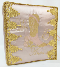 Western Boot Quinceanera Guest Book, Photo Album