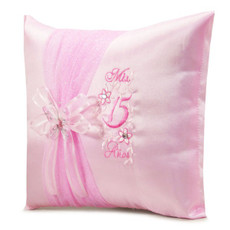 Quinceanera Pillows, Kneeling, Tiara Pillow or Set  BIQS3079P