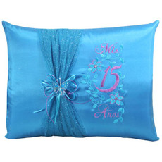 Quinceanera Pillows, Kneeling, Tiara Pillow or Set BIQS3089P