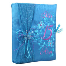 Quinceanera Guest Book, Photo Album BIQS3089GP