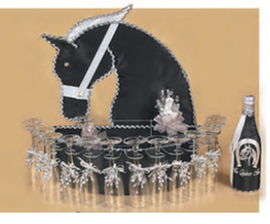 Charro  Quinceanera Toasting  Set, available in any color