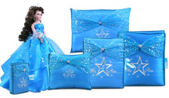 Star Quinceanera Accessories Set, 6 Items,  many colors