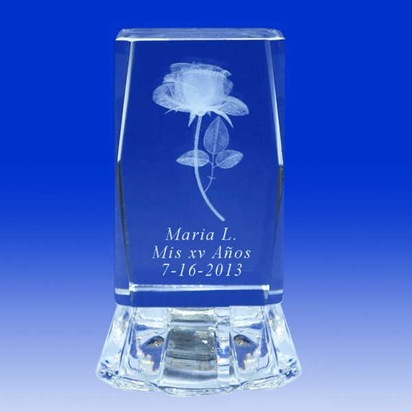 Personalized Crystal Quinceanera Party Favor Quinceanera Style