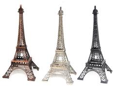 """19"""" Eiffel Tower Paris, many colors"""