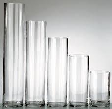 """16"""" Glass Cylinder Vase"""