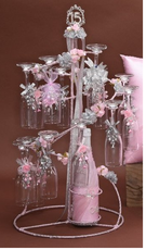 Pink Quinceanera  Toasting Set, available in any color