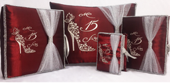 Quinceanera Set, up to 7 items, many colors
