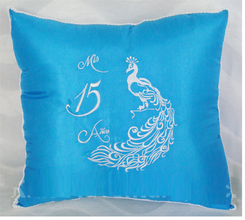 Quinceanera Kneeling Pillow, Tiara Pillow or Set  # AK-KC232P