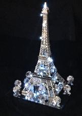 Lighted Paris Quinceanera Centerpiece