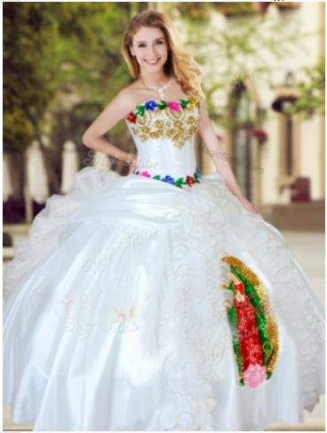 9e4406335 Virgen de Guadalupe Quinceanera Dress - Vestido de Quinceanera