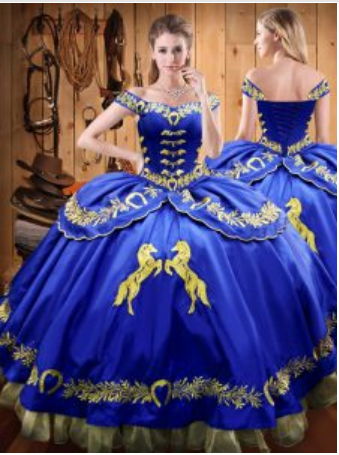 Royal Blue Quinceanera Dress Quinceanera Style