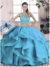 Blue Quinceanera Dress QSJQDDT2071002-1