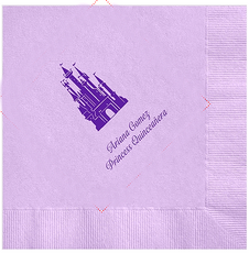 Castle Quinceanera Napkins, 100