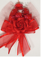 Red Quinceanera  Hand Corsage, available in many colors