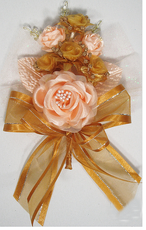 Pink and Gold Quinceanera  Hand Corsage, available in many colors