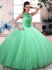 Green Quinceanera Dress