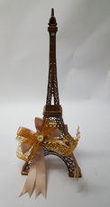 Decorated Paris Eiffel Tower Centerpiece, available in many colors