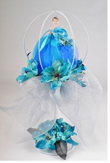 Quinceanera Carriage Centerpiece - Available in Many Colors