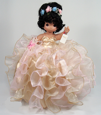 """14"""" Quinceanera Precious Moments Doll  - Available in Many Colors"""
