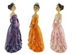 "Quinceanera Figurine, 4.75"" many colors available (12)"
