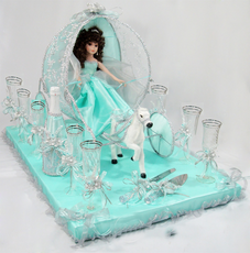 Carriage Toasting Set, available any color