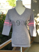 AKA Grey and Pink 1908 Varsity Shirt