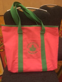 AKA Pink Canvas Tote Bag