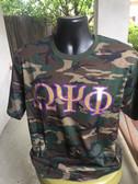 Omega Psi Phi Camouflage Shirt