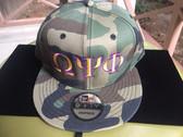 Omega Psi Phi  Camouflage Baseball Hat