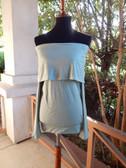 Sage  Green Off The Shoulder Long Sleeve Shirt