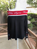 Delta Sigma Theta Off The Shoulder Sweater