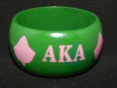Alpha Kappa Alpha Wood Ivy Bracelet