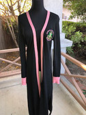 Alpha Kappa Alpha Black Duster Sweater