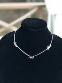 Alpha Kappa Alpha Sterling Silver - Silver Star Necklace