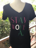 Alpha Kappa Alpha Stay Woke Shirt