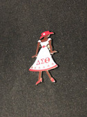 Delta Sigma Theta Lady Lapel Pin