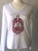 Delta Sigma Theta Long Sleeve Shield Shirt