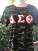 Delta Sigma Theta Camo Shirt