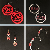 Delta Sigma Theta Earring Package