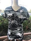 DST Black Crest Camo Shirt