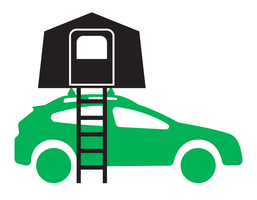 Vehicle Racks for Rooftop Camping and Tents