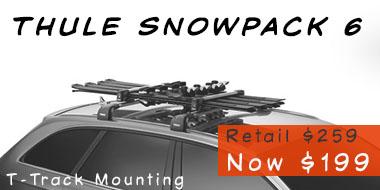 thule ski-snowboard rack snowpack