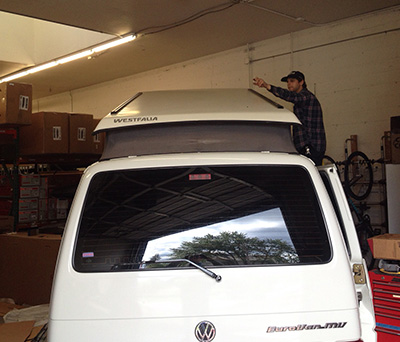 ReRack custom roof rack installation roof tracks