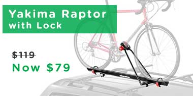yakima raptor roof bike rack