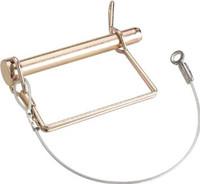 Thule tab lock spring pin with lanyard